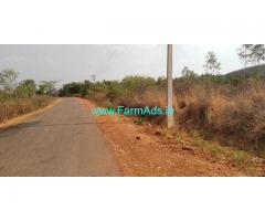 3 Acres Plain agriculture land for sale at Chinayakanahalli