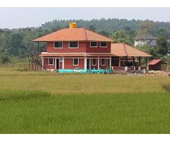 2 Acres Land with Homestay for Sale in Hassan