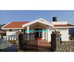 Furnished Farm House for Sale near Ooty