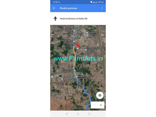 2.5 Acres Land for Sale in Velimela,Kollur ORR
