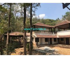 38 Acres Land with Resort for Sale near Kemmangundi Hill Station