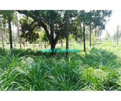35 gunta Lake adjacent farm land for sale at channapatna