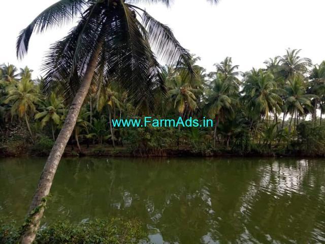 River Side 3.50 Acres Farm Land for Sale near Mangalore