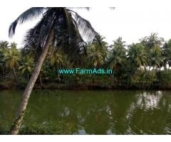 River Side 3.50 Acres Farm Land for Sale near Mangalore