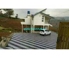 ooty 2221 sq feet full furnished house with 77.5 cents land for sale