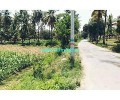 30 gunta farm land for sale 4km from channapatna city