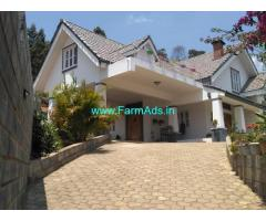Farm House for Sale at Coonoor