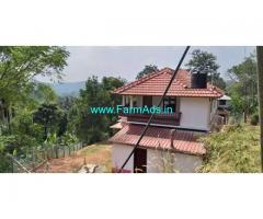 15 Cent Farm land with Farm house for Sale in Mananthavady