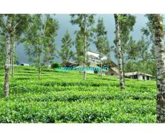 32 Acres Lake View Estate with Farm house for Sale at Wayanad