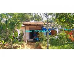 1.50 Acre Agriculture land with House for Sale at Wayanad