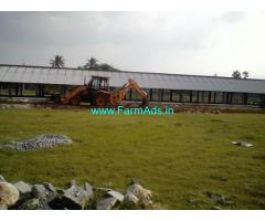 1.60 Acres Agriculture Land with Poultry Farm for Sale at Puthalapattu