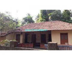 28 cents dry land,8 cents wet land ,House for Sale at Koovappady, Kalady