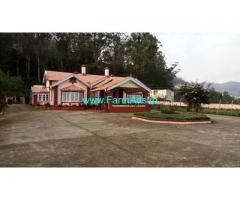 Old British Bungalow for Sale at Ooty