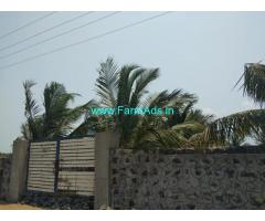 42 Cents Sea View Land for Sale near Muthaliyar kuppam boat house