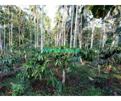 15 Acres Coffee Estate with Farm House for Sale at Meenangadi