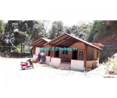 2.5 Acres Coffee Estate with Cottages for Sale at Madikeri