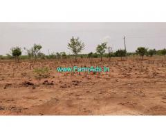 low budget 3 acres 20 gunta plain agriculture land for sale at Madhugiri