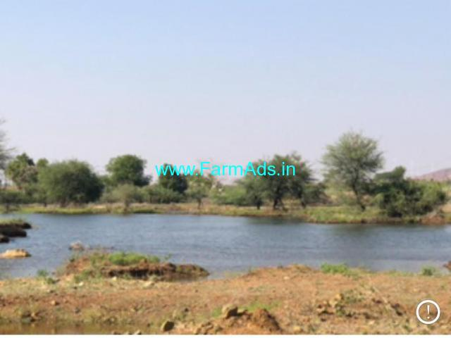 Lake Attached 42 Acres Agriculture Land Sale near Penukonda,HNSS Canal