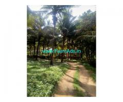 4.20 Acres Coconut  farm for sale at  meenakshipuram to sarkarpathi route