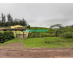 1.27 Acres Agriculture Land with Farm House for Sale in Ooty