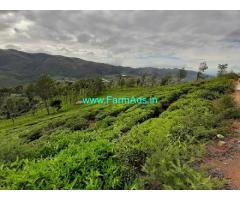 25 Acres Tea Estate for Sale near Ooty