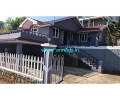 Farm House in 10 cents Land for Sale at Ooty