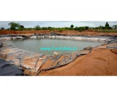 20 acres Lake attached Agricultural land for sale near sira.