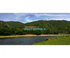 River Front 1.86 Acres Agriculture Land for Sale near Attapady