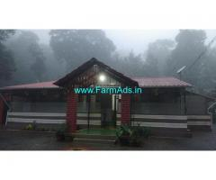 2 acre well maintained coffee estate with homestay for sale