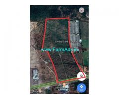 40 Acres Agriculture Land for Sale near Chityal,Vijayawada Highway