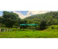 4.67 acres farm land for sale at Attapady. tar road frontage