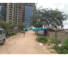 3 Acres 36 Gunta Land for Sale near Kokapet,Behind Amazon Building