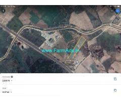 Highway Facing Farm Plots for Sale near Kothakota