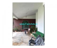 3 bedroom high ceiling RCC bungalow situated in a 2 acre Coffee Estate