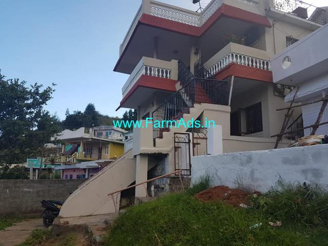 5 Cents Land with House for Sale at Coonoor