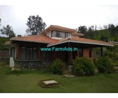 Fully Furnished Farm House for Sale in Coonoor