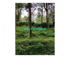 48 acre Rubber and Coconut Farm for sale at Sulia to Madikeri Road