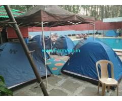 Resort in 3 Acres Land for Rent at Coorg