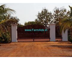 12.33 Acres Farm Land with Farmhouse for Sale Near Chevella