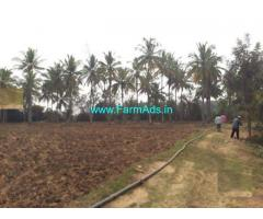 River Side 7 Acre Agriculture Land for Sale near Sargur