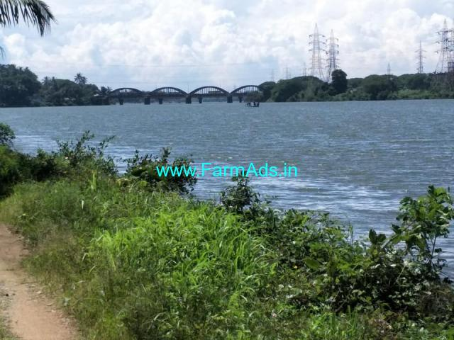 with house 25 cent rever side land available for sale in kulur, Mangalore