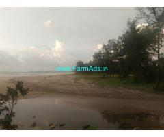 Available 5 acre beach facing land for sale in Kumta