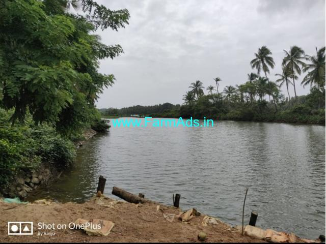 6 acre river touch land for sale in udupi - manipal location.