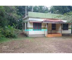 50 Cents Land with house for Sale at Vithura