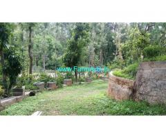 4.0 acres farm land with farm house for sale at Chikkamagaluru.
