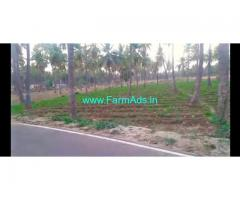 Sale 2 Acre agriculture farm land at Gauribidnaur.