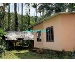 1.45 acres Farm land with farm house for sale at Attapady.