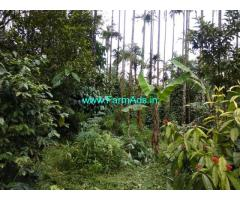 1.20 Acres Farm Land with House for sale at Attappady, Kerala.