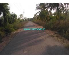 5 acres and 4 kunta Farm for sale at  Malvalli Taluk, Halgur Hobli