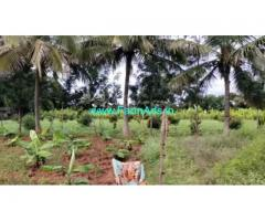 3 acre agriculture farm land for sale at T-Narsipura. 45km from mysore